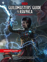 Dungeons & Dragons - Guildmasters' Guide to Ravnica (Role Playing Game) - Cover