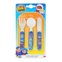 Go Jetters - Characters Cutlery Set (3pc) - Cover