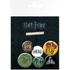 Harry Potter - Assorted Button Badges (6pc)