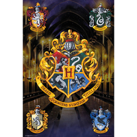 Harry Potter - Crests Maxi Poster - Cover