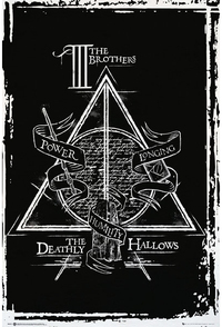 Harry Potter - Deathly Hallows Graphic Maxi Poster - Cover