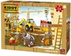King Puzzle - Kiddy Construction - Construction Site Puzzle (50 Pieces)