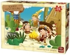 King Puzzle - Kiddy Adventure - Indians Around Campfire Puzzle (24 Pieces)