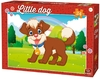 King Puzzle - Little Kittens & Dogs - Dog in the Park Puzzle (24 Pieces)
