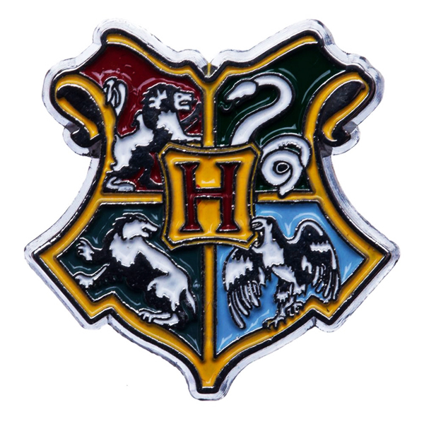 Harry Potter - Hogwarts House Crest (Lapel Pin Badge)