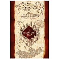 Harry Potter - Marauders Map Maxi Poster - Cover