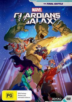 Guardians of the Galaxy: The Final Battle (DVD)