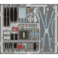 Eduard - Photoetch 1/32 - Mig-29 - Fulcrum K-36dm Seat (Trumpeter) (Plastic Model Kit Add-On)