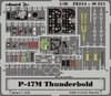 Eduard - Photoetch (Zoom) 1/48 - P-47m Thunderbolt (Tamiya) (Plastic Model Kit Add-On)