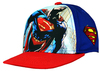 Superman - Front Snap Back Cap Blue - Junior