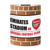 Arsenal F.C. - Brick Wall Money Box