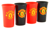 Manchester United - Coloured Shot Glasses (Pack of 4)