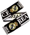 Real Madrid - Crest Scarf - Black