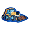JCB - Fun In The Mud Shaped Cushion