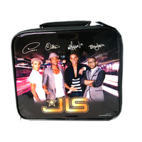 JLS - Band Members Black/Gold Lunch Bag - Cover