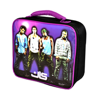 JLS - Band Members Purple Lunch Bag - Cover