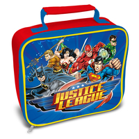 Justice League - Characters Rectangle Lunch Bag - Cover