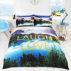 Live Laugh Love Duvet Set (Double)