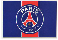 Paris Saint Germain - Club Crest Flag - Cover