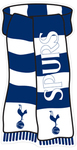 "Tottenham Hotspur - Club Crest & Text ""SPURS"" Show Your Colours Sign"