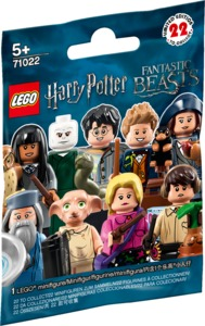 LEGO® Minifigures - Harry Potter and Fantastic Beasts Single Minifigure (Assortment - 1 Figure Supplied At Random) - Cover