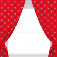 Arsenal F.C. - Repeat Crest Curtains - 72 inch - Cover