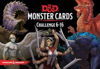 Dungeons & Dragons - Monster Cards: Challenge 6-16 (Role Playing Game) - Cover