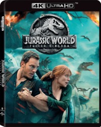 Jurassic World: Fallen Kingdom (4K Ultra HD + Blu-ray) - Cover