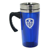 Leeds United - Club Crest Aluminium Travel Mug (450ml)