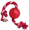 KONG - Red Ball with Red and White Rope (Small)