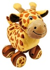 KONG - TenniShoes Tennis Ball and Giraffe Plush Toy (Small)