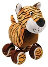 KONG - TenniShoes Tennis Ball and Tiger Plush Toy (Small)