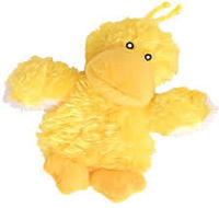 KONG - Yellow Duck Refillable Cat Plush Toy - Cover