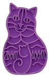 KONG - Cat ZoomGroom Grooming Tool (Purple)