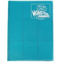 Monster Protectors - 9 Pocket Trading Card Album - Holofoil Aqua Blue
