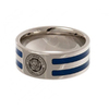 Leicester City - Club Crest Colour Stripe Ring (Large)