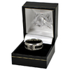 Newcastle United - Club Crest Black Inlay Ring (Small)