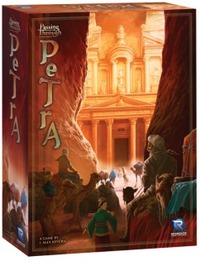 Passing Through Petra (Board Game) - Cover