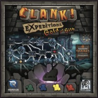 Clank! A Deck-Building Adventure - Expeditions: Gold and Silk Expansion (Card Game) - Cover