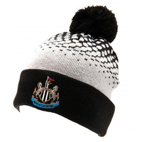 Newcastle United - Club Crest Cuff Bobble Knitted Hat - Cover