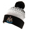 Newcastle United - Club Crest Cuff Bobble Knitted Hat