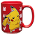 Pokemon - Pikachu Red Ceramic Mug Cover