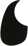 Allparts Left-Handed Acoustic Guitar Pickguard (Black)
