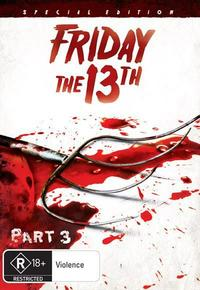 Friday the 13th: Part 3 (DVD) - Cover