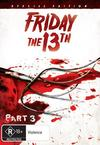 Friday the 13th: Part 3 (DVD) Cover