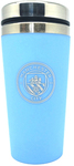 Manchester City - Handless Aluminium Travel Mug (450ml)