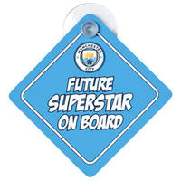 Manchester City - Baby On Board Sign