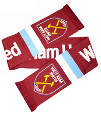 West Ham United F.C. - Stripe Scarf - Cover