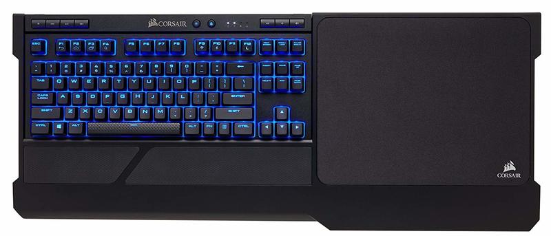 beb0e713caa Corsair - K63 Wireless Mechanical Keyboard & Gaming Lapboard Combo - Game  Comfortably on Your Couch