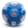 "Paris Saint Germain - Club Crest &Text ""PARIS SAINT GERMAIN"" Blue Prism Football (Size 5)"